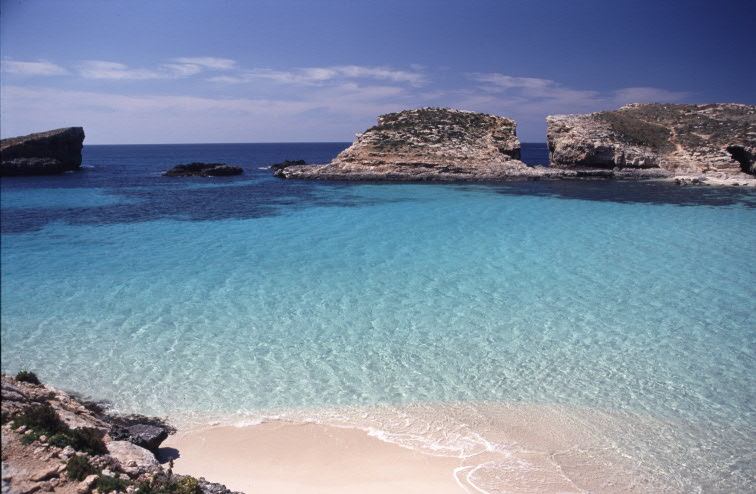 Blue Lagoon in Comino